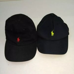 Two Vintage Ralph Lauren adjustable Caps